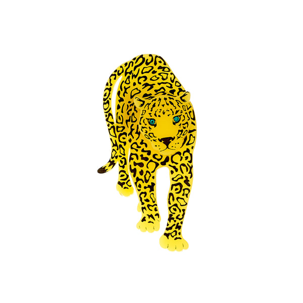 Tatty Devine Leopard Brooch