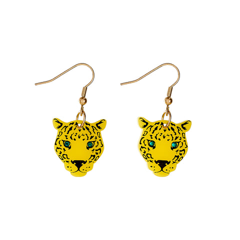 Tatty Devine Leopard Earrings