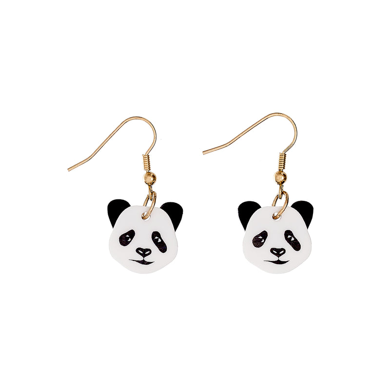 Tatty Devine Panda Earrings