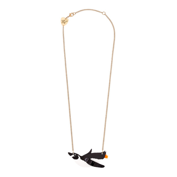 Tatty Devine Penguin Necklace