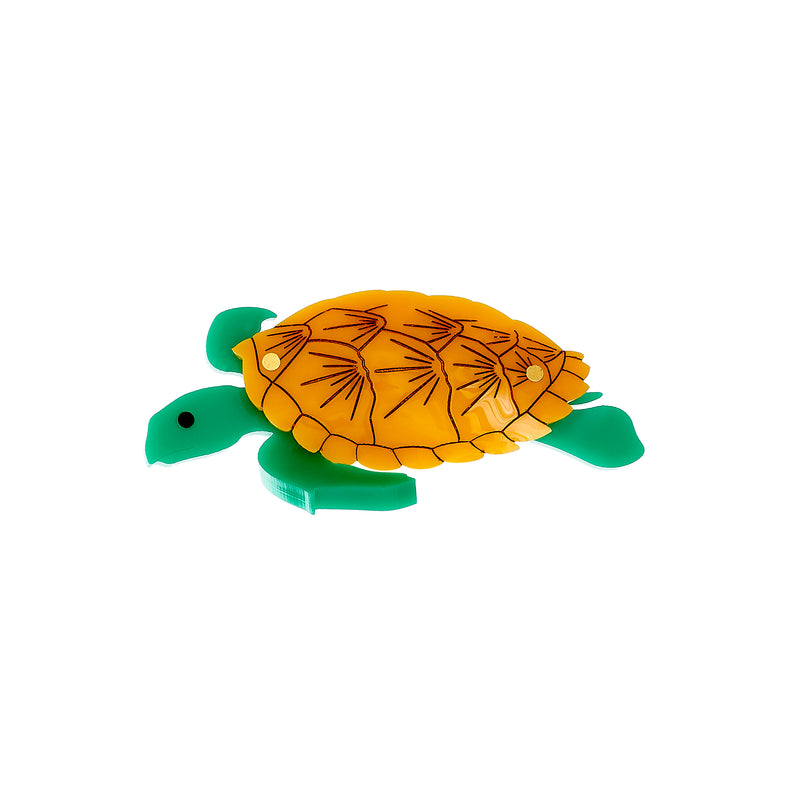 Tatty Devine Sea Turtle Brooch
