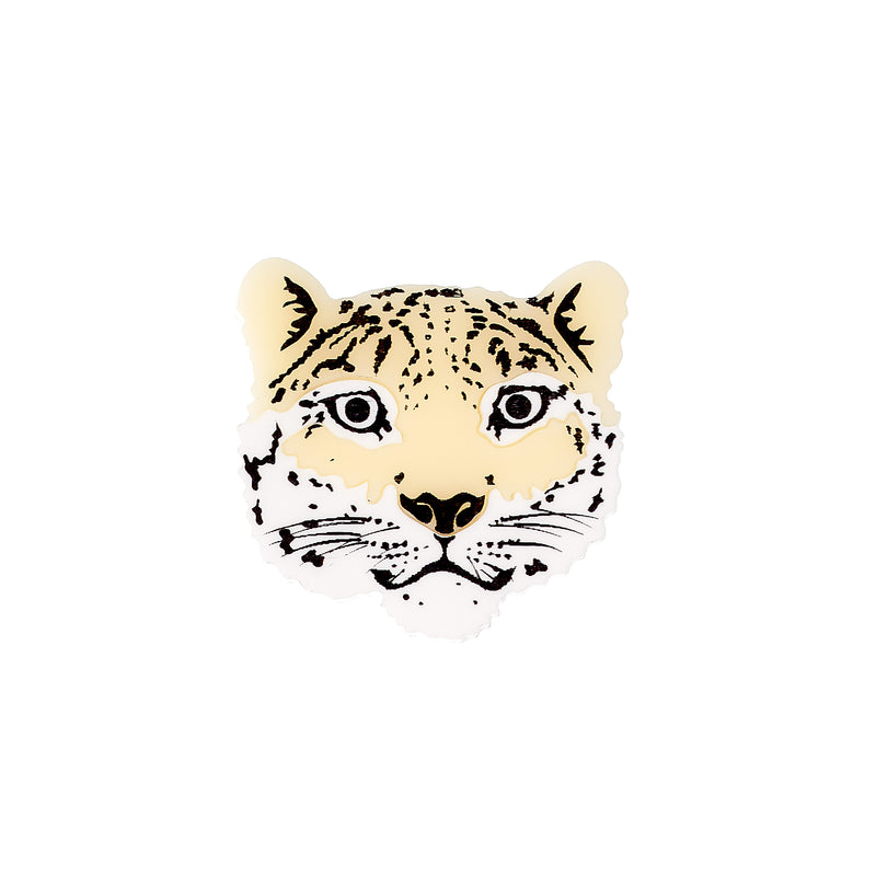 Tatty Devine Snow Leopard Brooch