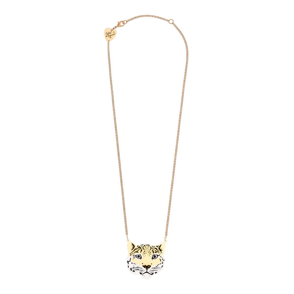 Tatty Devine Snow Leopard Necklace
