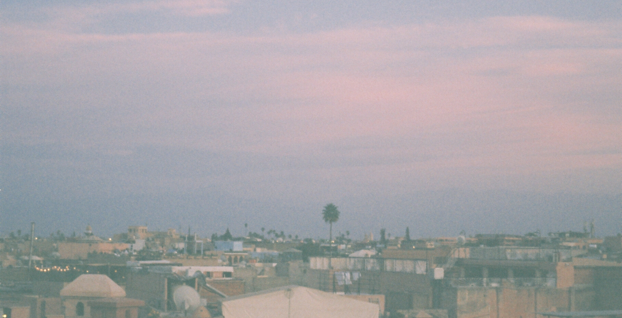 Morocco on film, sunsets in Marrakech