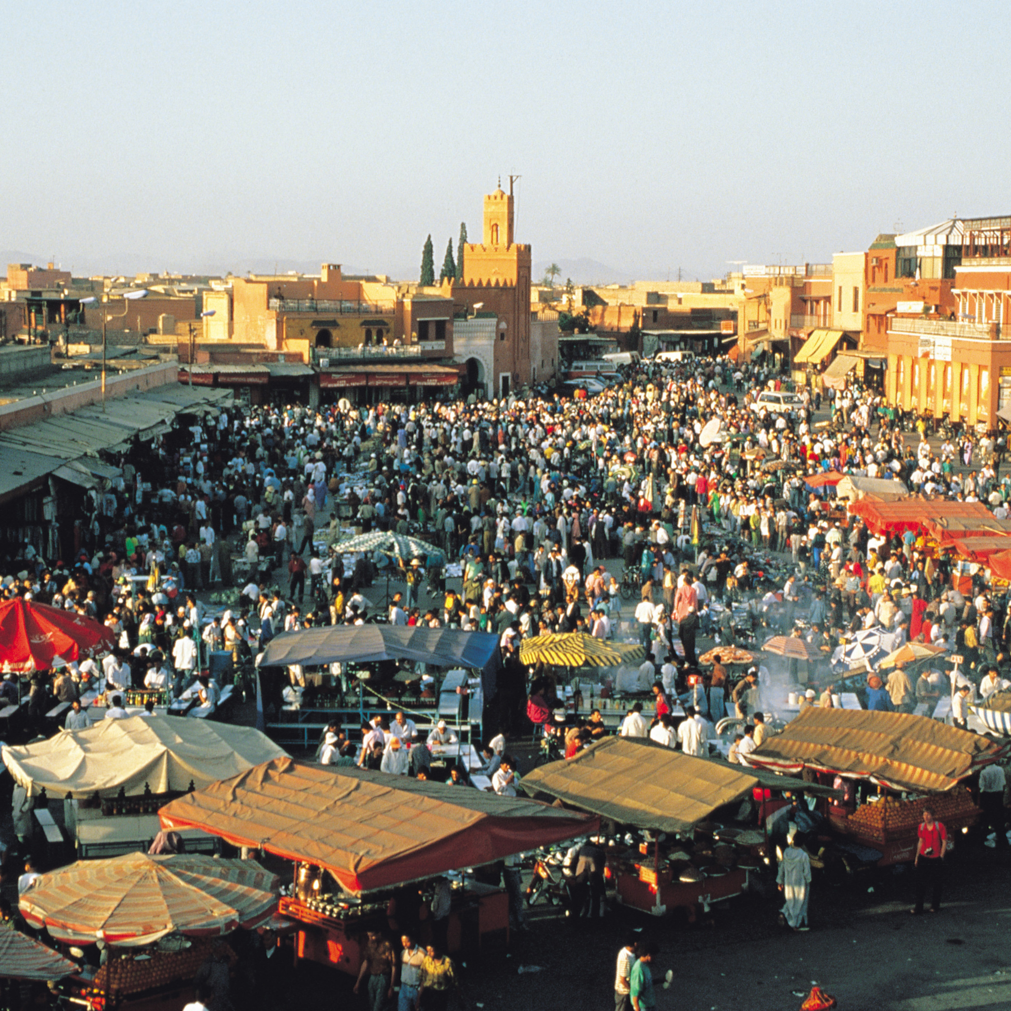Jemaa el Fna 5 places to visit in Marrakech Morocco