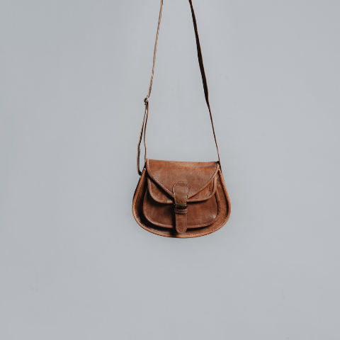 Luke Sling Lost Little One ethically handmade Moroccan leather bags