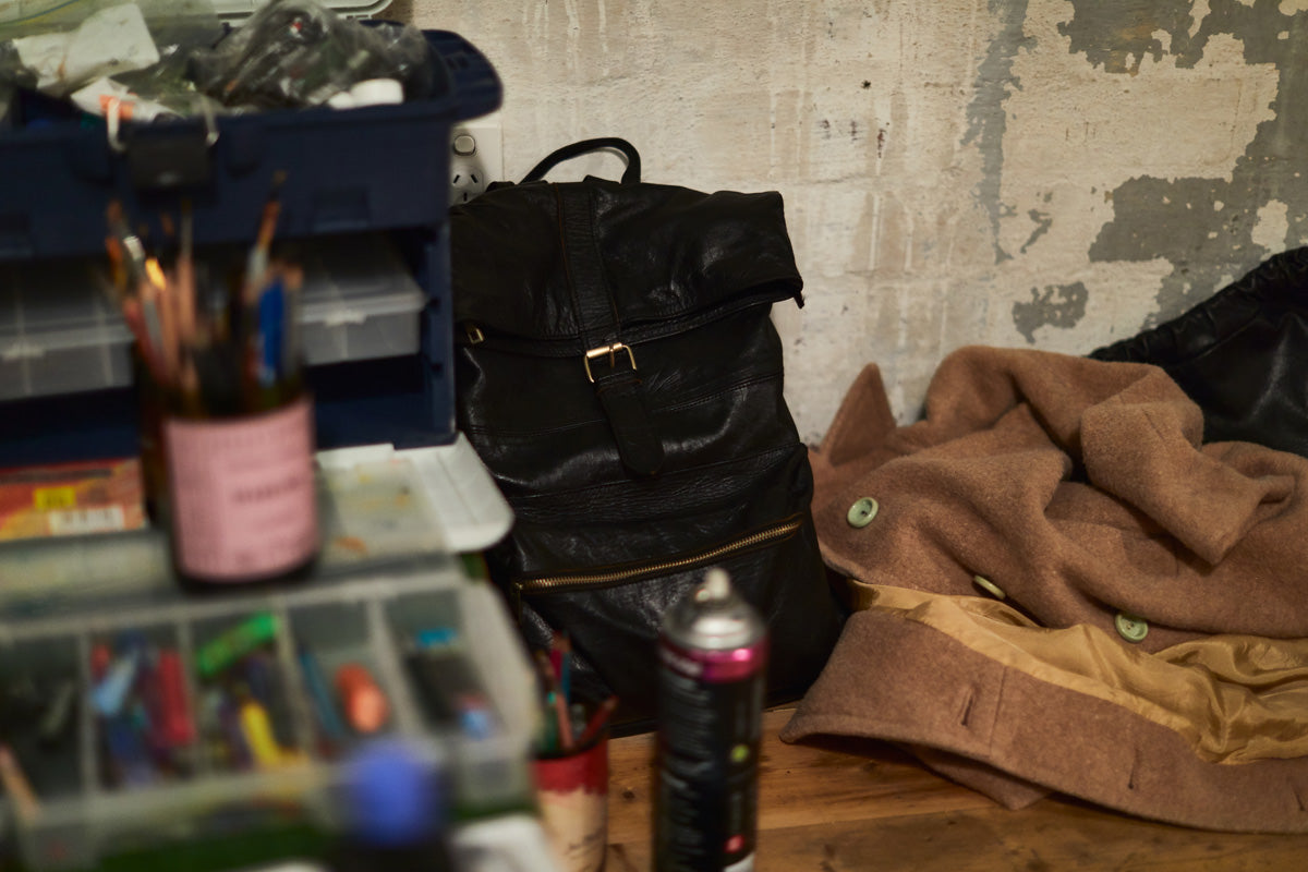 Lost Little One leather bags and Art & Wine Melbourne competition