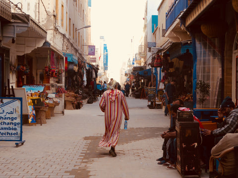 Essaouira, Morocco. A coastal town on the Atlantic Ocean. Rich of culture and craft.