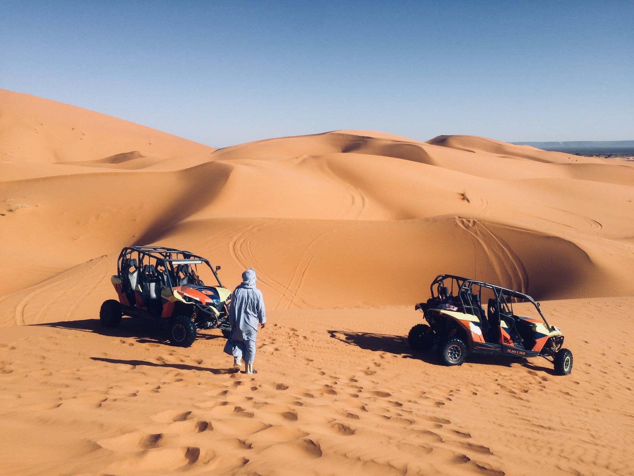 Buggies in the Western Sahara Morocco