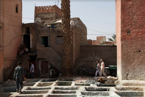 moroccan tannery marrakesh