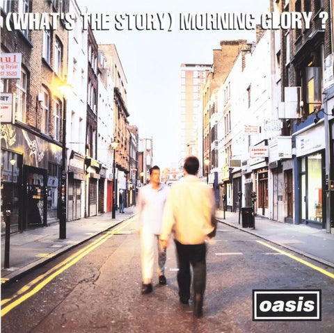 Oasis - (What's the Story) Morning Glory vinyl record sleeve