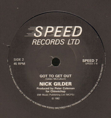 "(You Really) Rock Me-Speed-7"" Vinyl-M/M"