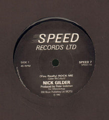"Nick Gilder-(You Really) Rock Me-Speed-7"" Vinyl"