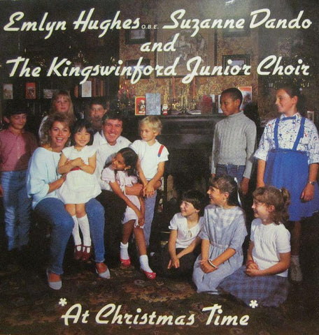 "Hughes/Dando/Kingswinford Junior Choir-At Christmas Time-Sub Zero Music-7"" Vinyl"