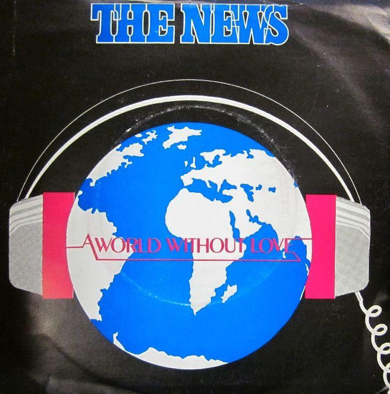 "The News-A World Without Love-KA Records-7"" Vinyl"
