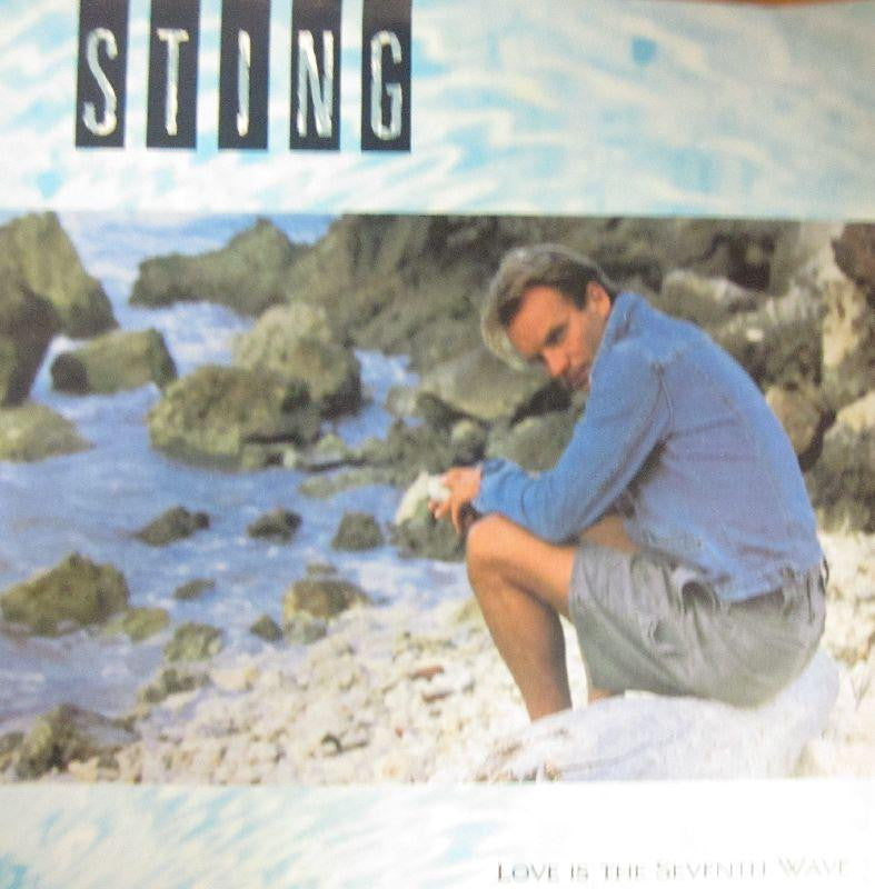"Sting-Love Is The Seventh Wave-A&M-7"" Vinyl"