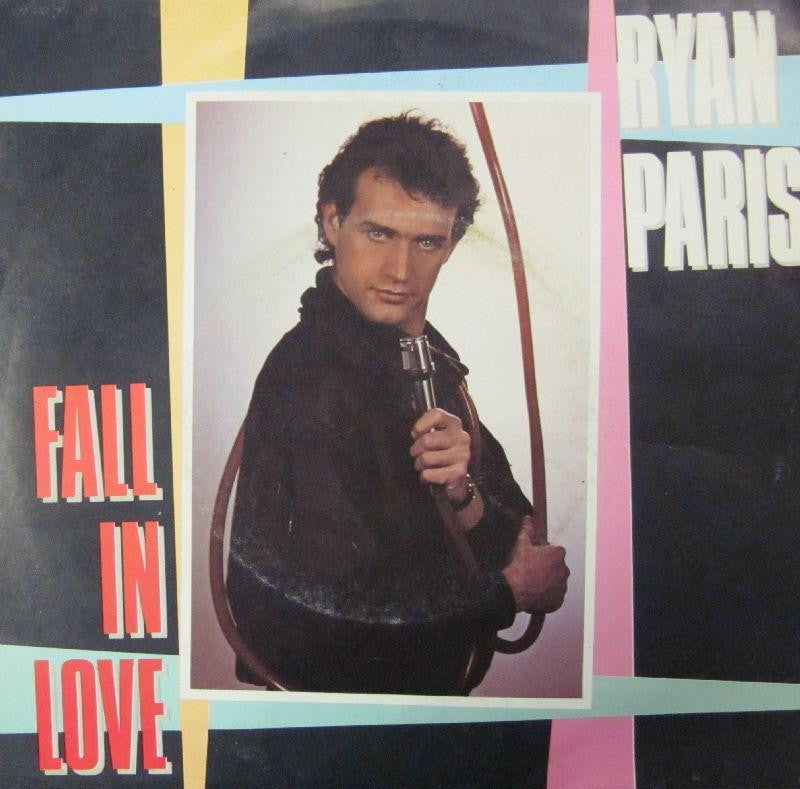 "Ryan Paris-Fall In Love-Carrere-7"" Vinyl P/S"