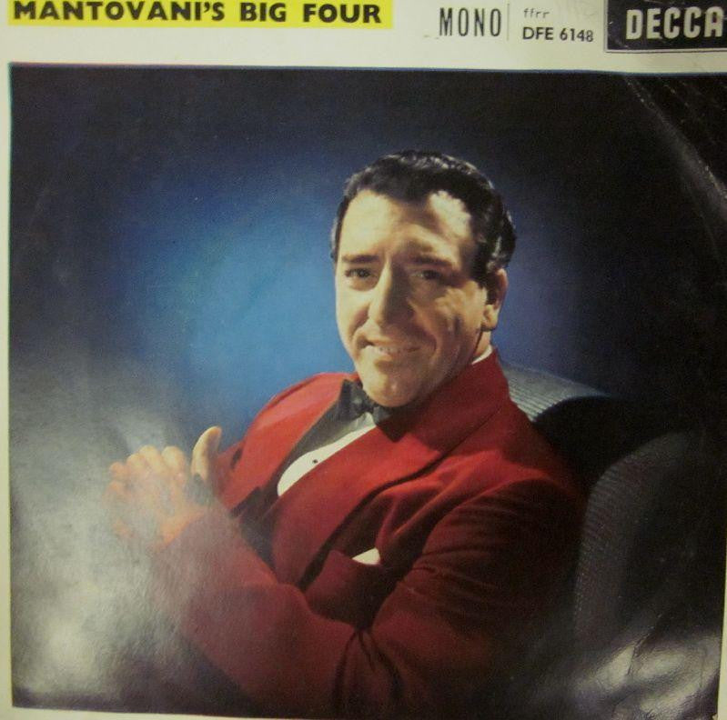 "Mantovani & His Orchestra-Mantovani's Big Four-Decca-7"" Vinyl"