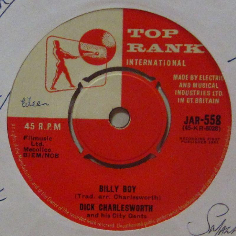 "Dick Charlesworth-Billy Boy-Top Rank-7"" Vinyl"
