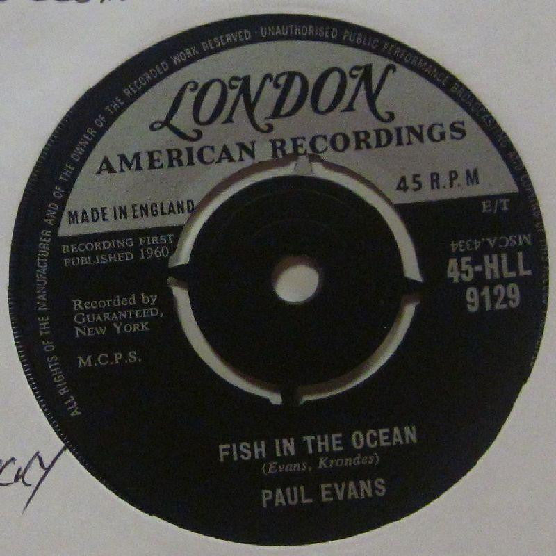 "Paul Evans-Fish In The Ocean-London-7"" Vinyl"