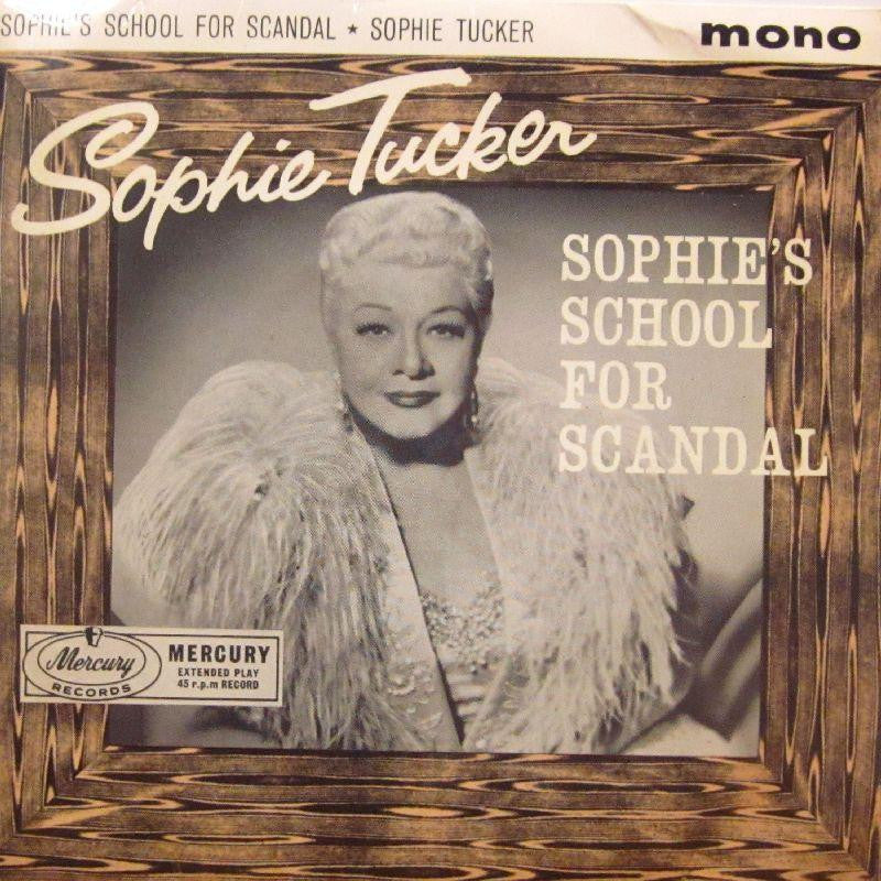 "Sophie Tucker-Sophie's School For Scandal-Mercury-7"" Vinyl P/S"