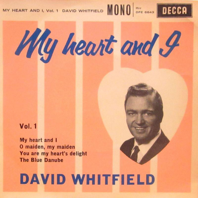 "David Whitfield-My Heart And I Vol.1-Decca-7"" Vinyl P/S"