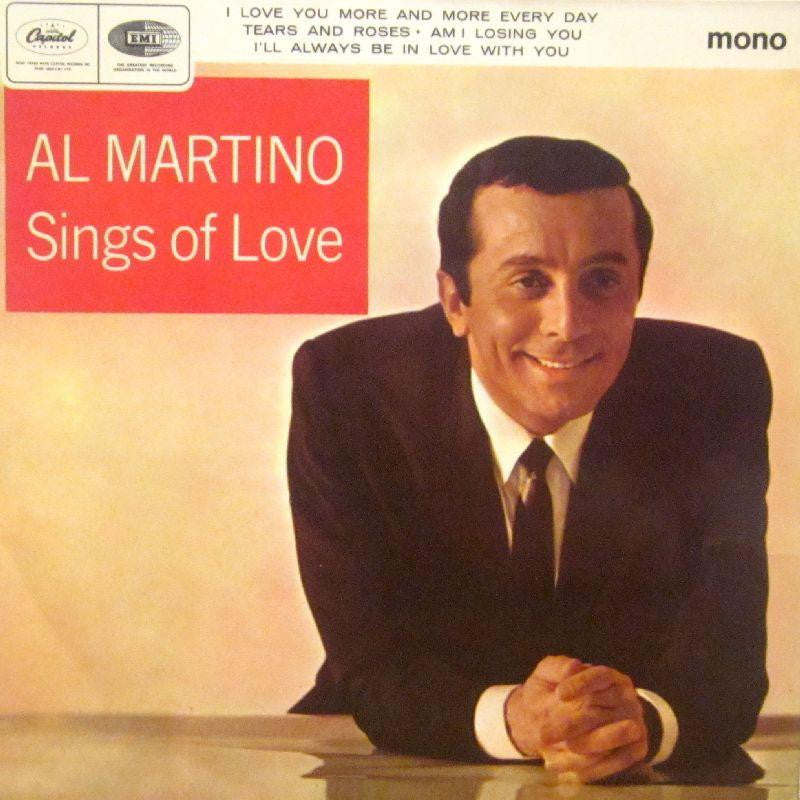 "Al Martino-Sings Of Love-Capitol-7"" Vinyl P/S"