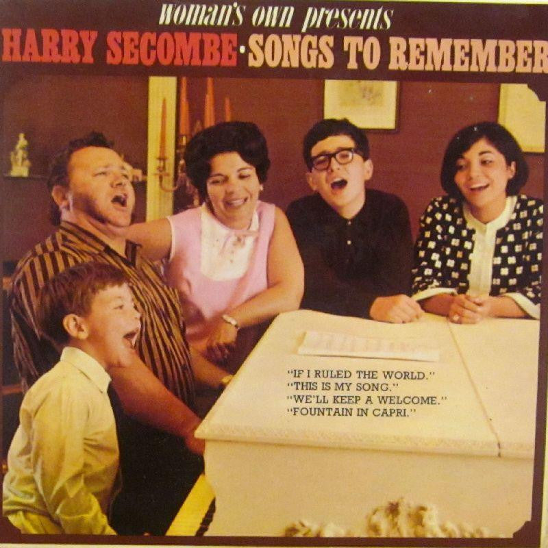 "Harry Secombe-Songs To Remeber-Woman's Own-7"" Vinyl P/S"