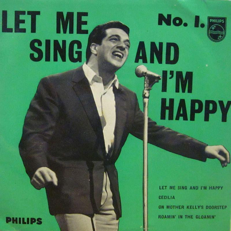 "Frankie Vaughan-Let Me Sing And I'm Happy-Philips-7"" Vinyl P/S"