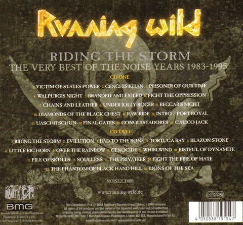 Riding The Storm - The Very Best Of The Noise Years 1983-1995-Noise-2CD Album-New & Sealed