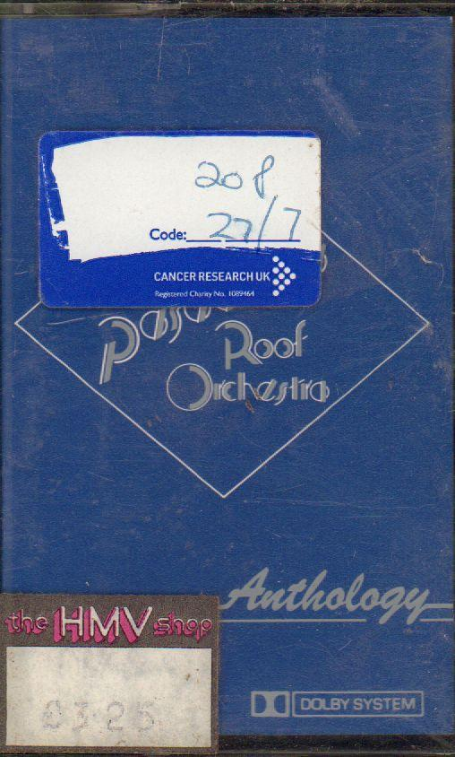 Pasadenas Roof Orchestra-Anthology-Cassette