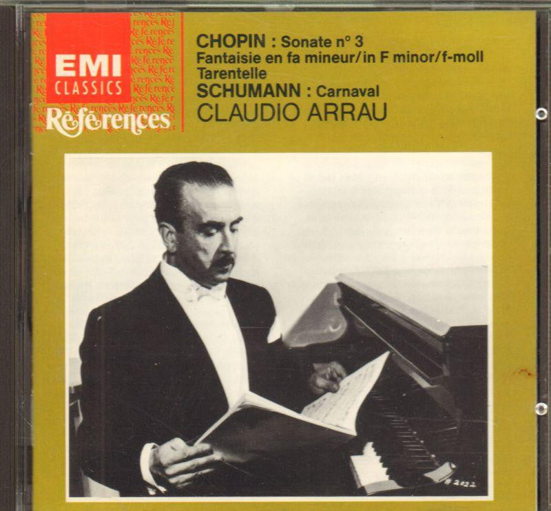Chopin-Chopin: Piano Sonata No. 3, Etc./ Schumann: Carnaval-CD Album