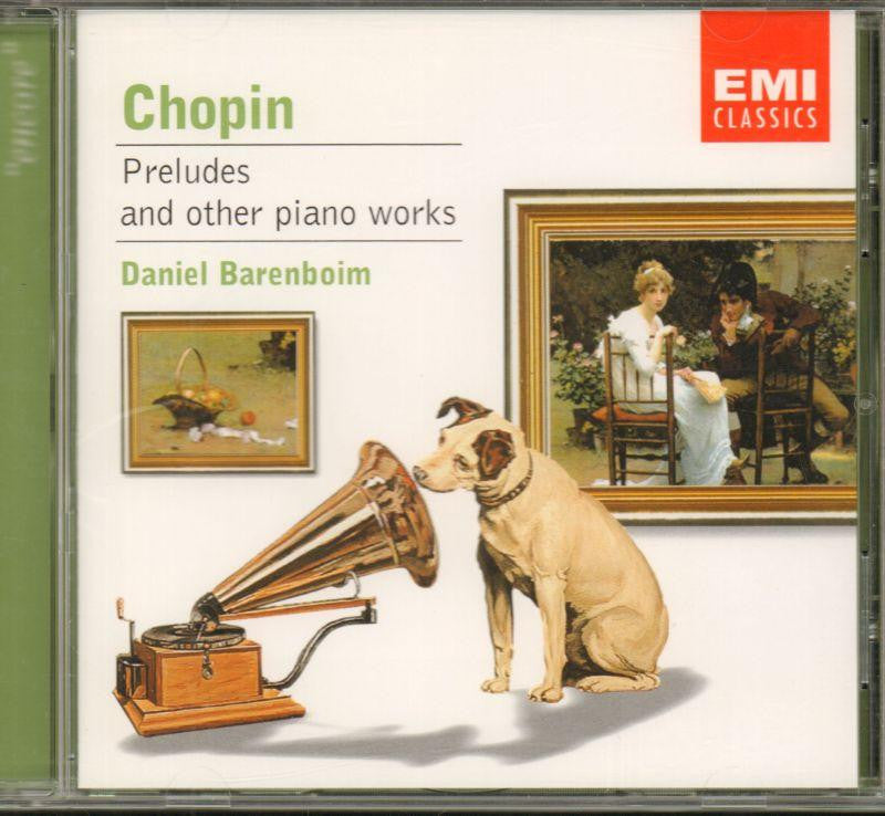 Chopin-26 Preludes-CD Album