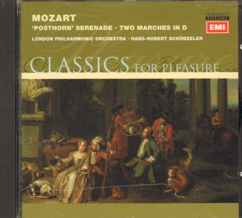 Mozart-Posthorn Serenade-CD Album