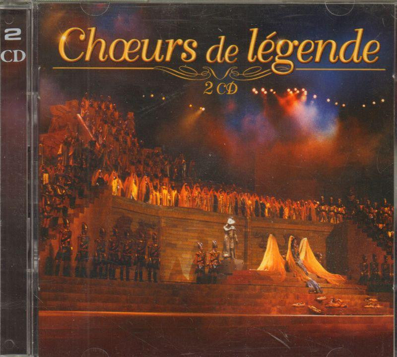 Various Composers-Choeurs De Legende -40Tr-CD Album