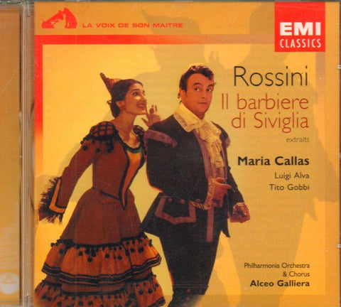 Alva Gobbi-Rossini: Le Barbier De Seville-CD Album
