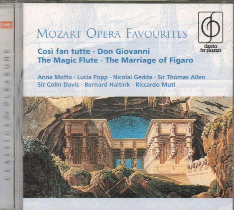 Mozart-Opera Favourites-CD Album