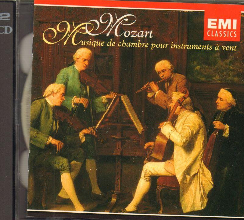 Mozart-Chamber Music For Wind Instruments-CD Album