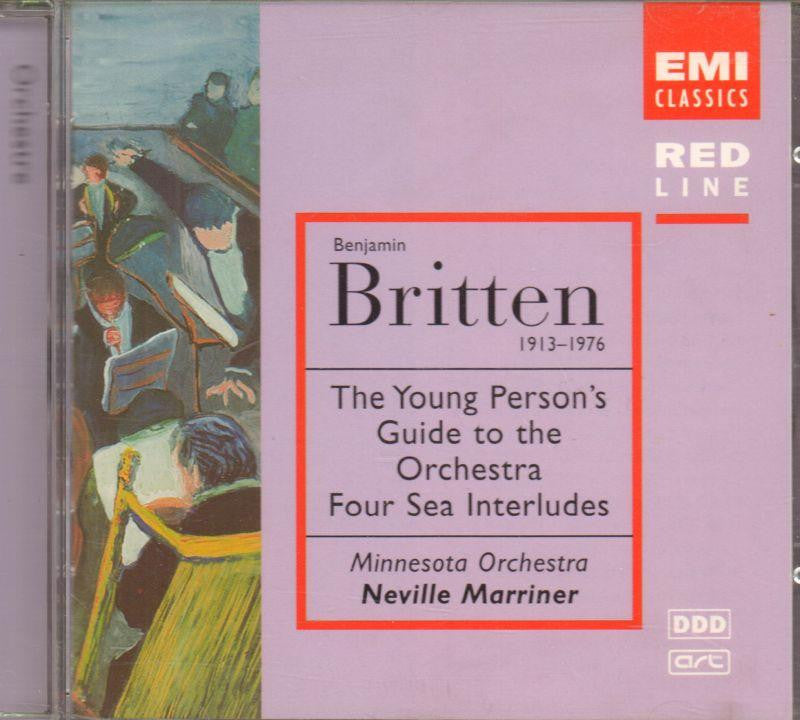Britten-Young Person's Guide To The Orchestra-CD Album