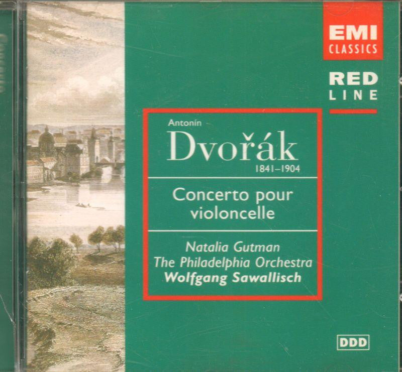 Dvorak-Cello Concerto-CD Album