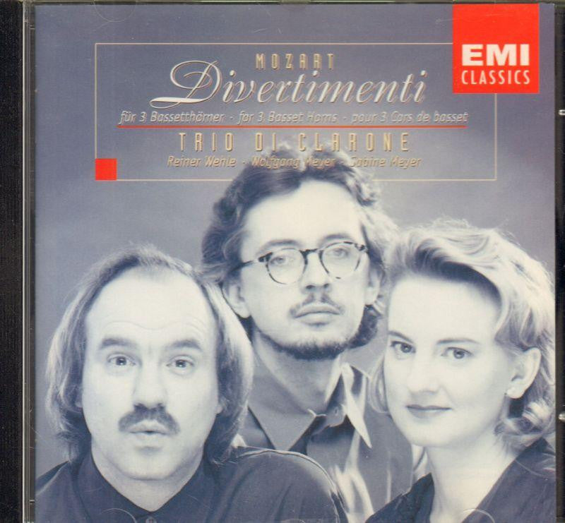 Mozart-5 Divertimenti (Trio Di Clarone)-CD Album