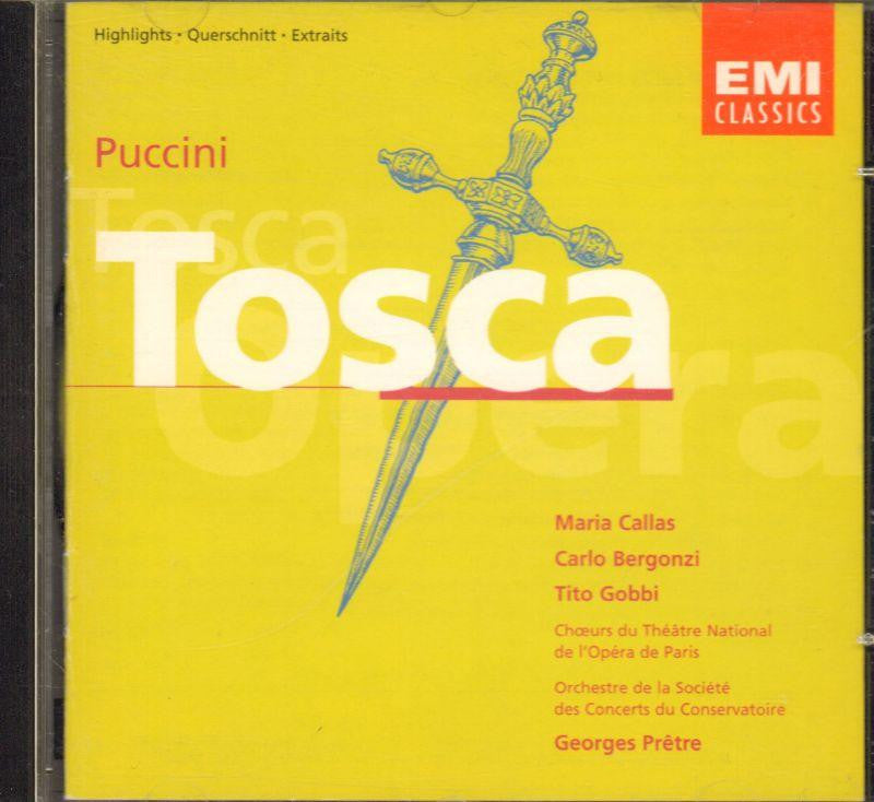 Puccini-Tosca (Highlights)-CD Album