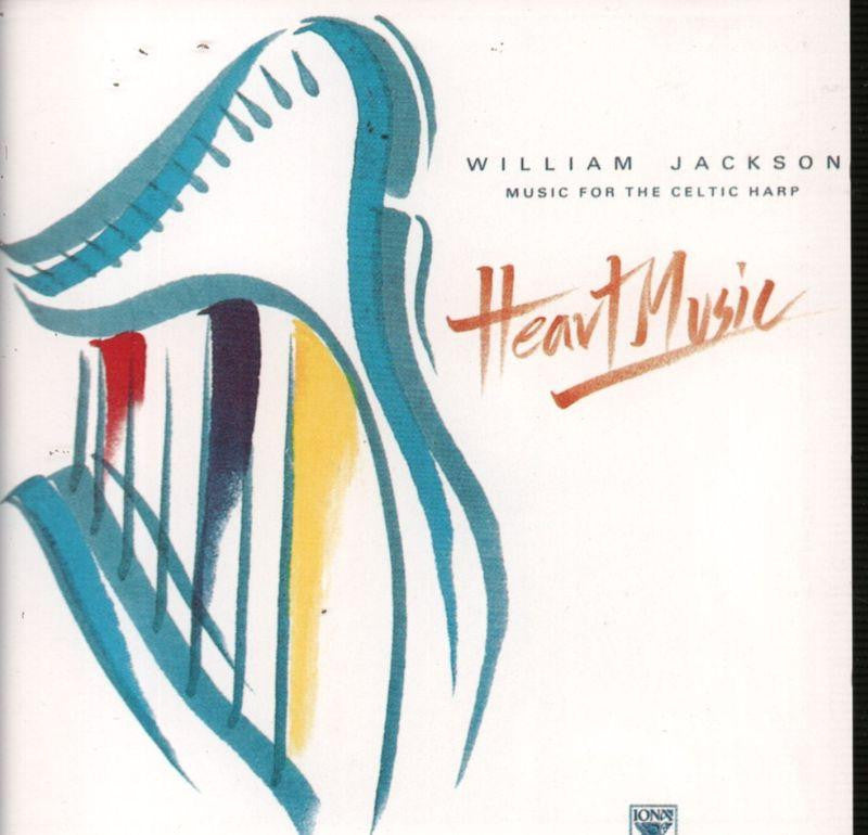 William Jackson-Heart Music-Iona-CD Album