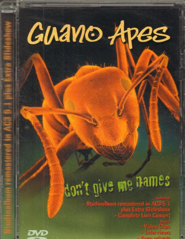 Guano Apes-Don't Give Me Names-DVD