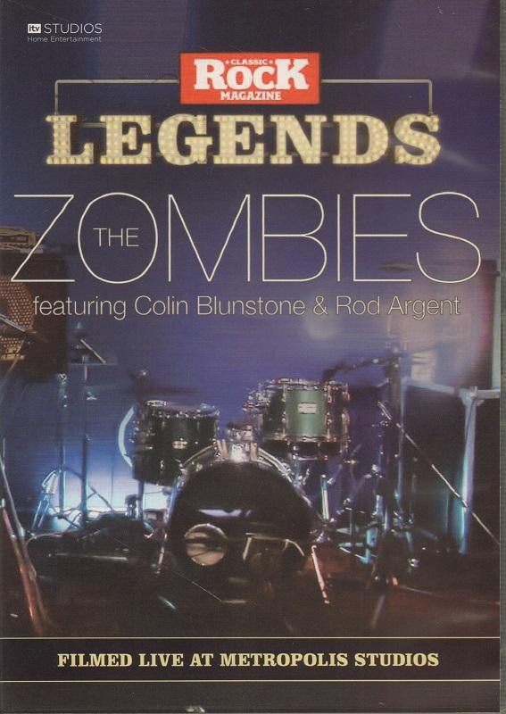 The Zombies-Filmed Live At Metropolis Studios-DVD
