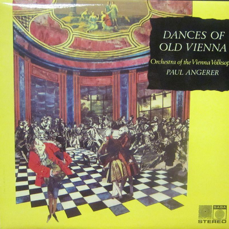 Orchestra of The Vienna Volksoper-Dances Of Old Vienna-Saga-Vinyl LP