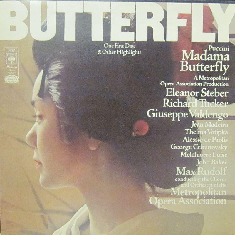 Puccini-Madama Butterfly Highlights-CBS-Vinyl LP