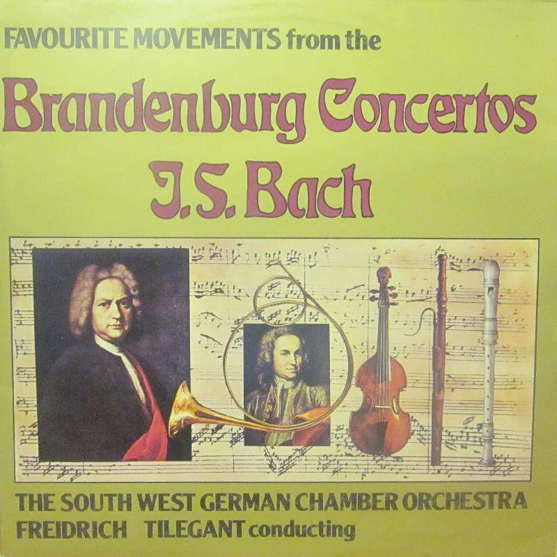Bach-Favourite Moments From The Brandenburg Concertos-Stereo Gold Award-Vinyl LP