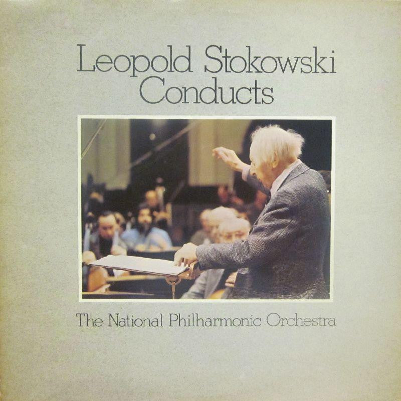 Leopold Stokowski-Conducts National Philharmonic Orchestra-St Michael-Vinyl LP
