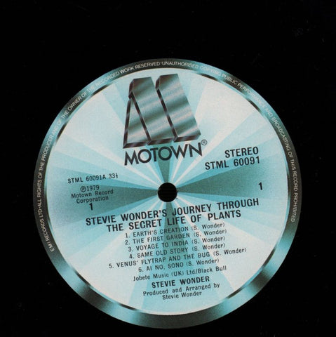 "Journey Through The Secret Life Of Plants-Motown-2x12"" Vinyl LP Trifold-VG/NM"